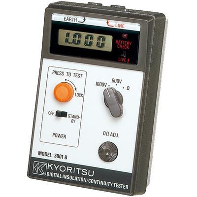 日本共立 绝缘电阻测试仪 MODEL 3001B