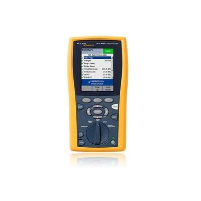 福禄克fluke DTX-1800 综合布线超五类六类网线及光纤测试