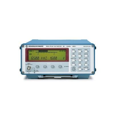 罗德与施瓦茨RS RMS 电压表URE3