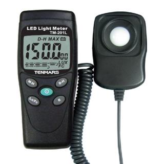 台湾泰玛斯tenmars 照度錶TM-201L LUX/FC