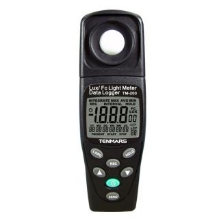 台湾泰玛斯tenmars 照度錶TM-203 LUX/FC