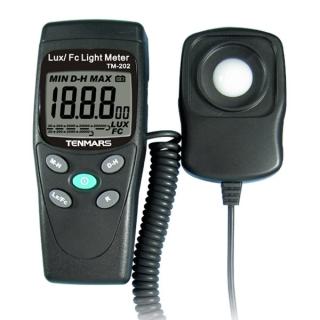 台湾泰玛斯tenmars 照度錶TM-202 LUX/FC