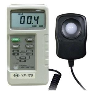 台湾泰玛斯tenmars 數位照度錶YF-170