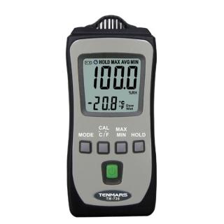 台湾泰玛斯tenmars  數位溫溼度計TM-730
