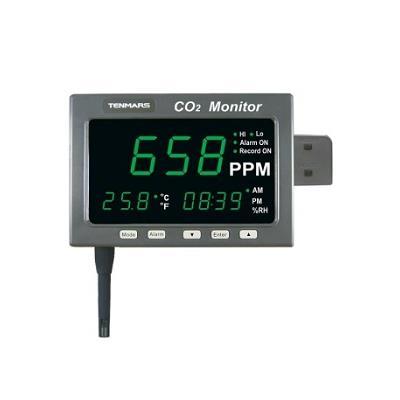 台湾泰玛斯tenmars 二氧化碳溫溼度監測紀錄器TM-186/TM-187