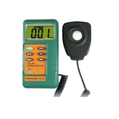 台湾泰玛斯tenmars 太陽能功率錶TM-207