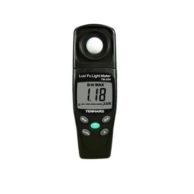 台湾泰玛斯tenmars 照度錶TM-204 LUX/FC