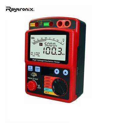雷泰克 数显绝缘电阻测试仪 RAY3125A 高精度数字兆欧表绝缘测试仪高压兆欧表