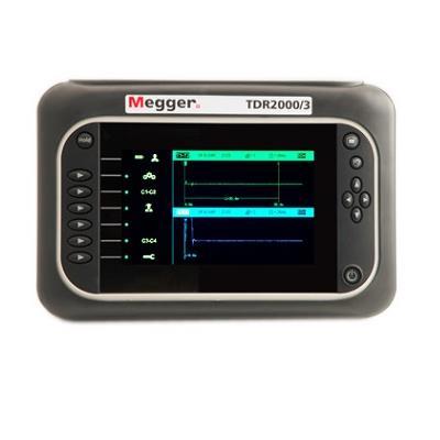 美国MEGGER 先进的双通道时域反射计 TDR2000/3