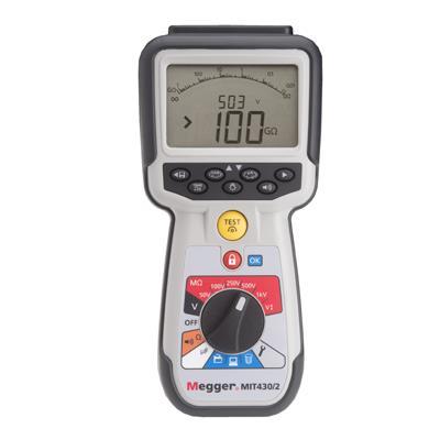 美国MEGGER CAT IV 绝缘电阻和连续性测试仪 MIT400/2