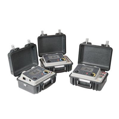 美国MEGGER 100 A高度便携微欧表,使用兩侧接地 DLRO100X