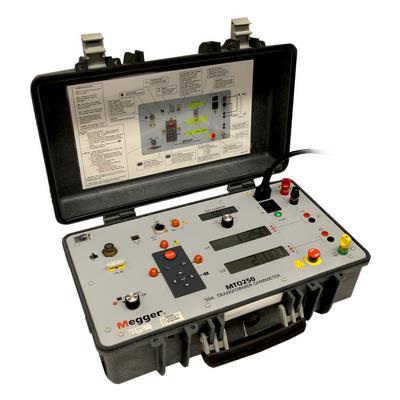 美国MEGGER 50 A 两绕组变压器欧姆表 MTO250