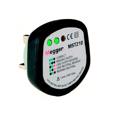 美国MEGGER 插座测试仪 MST210