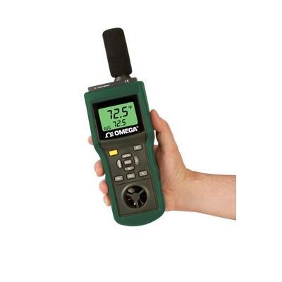 产品描述 HHF2005HW热线式风速计带有实时数据记录器,具有多种功能和RS232计算机接口,RH87