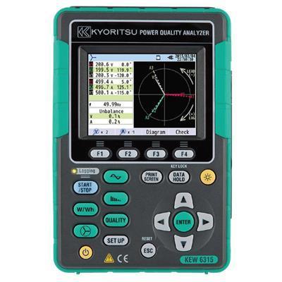 日本共立(KYORITSU/克列茨) 电能质量分析仪KEW 6315