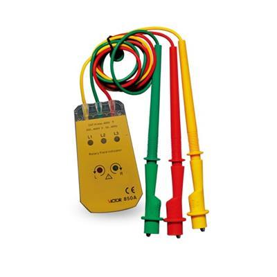 胜利仪器 三相交流电相序计VICTOR 850A/VC850a