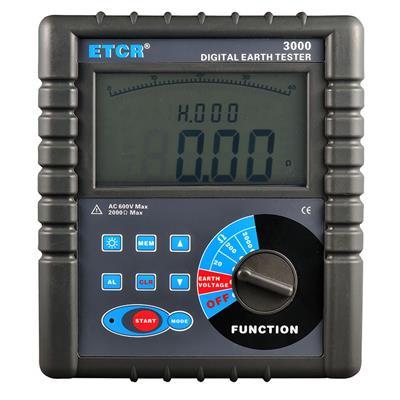 铱泰 数字式接地电阻表 ETCR3000