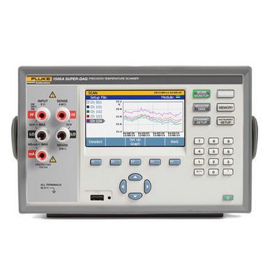美国福禄克FLUKE高精度多路测温仪1586A