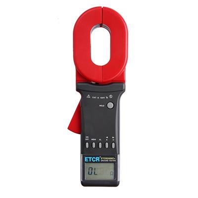 铱泰 多功能型钳形接电阻仪 ETCR2000C+