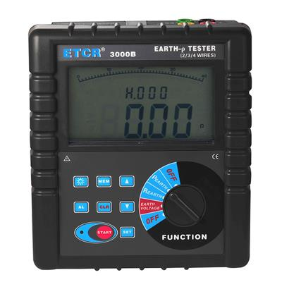 铱泰 接地电阻土壤电阻率测试仪 ETCR3000B