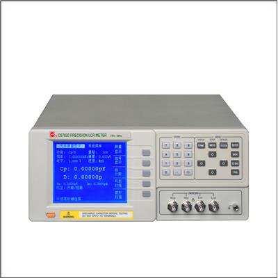 南京长盛 精密宽频全数字化LCR电桥 CS7602