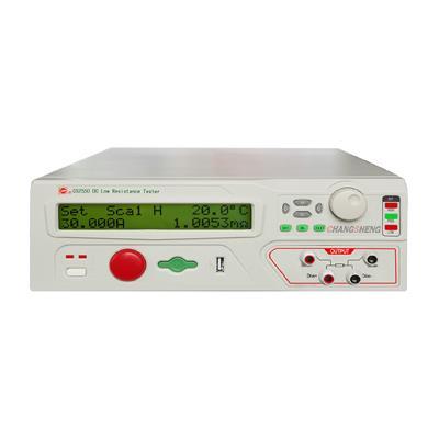 南京长盛 可编程直流低电阻测试 CS2550