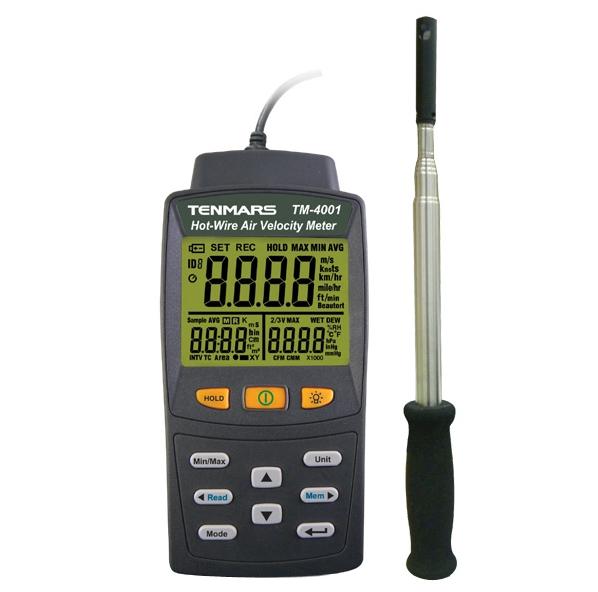 台湾泰玛斯tenmars  风速仪 TM-4001