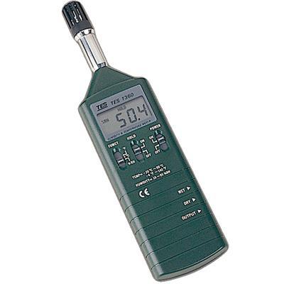 台湾泰仕TES温湿度计TES-1360A