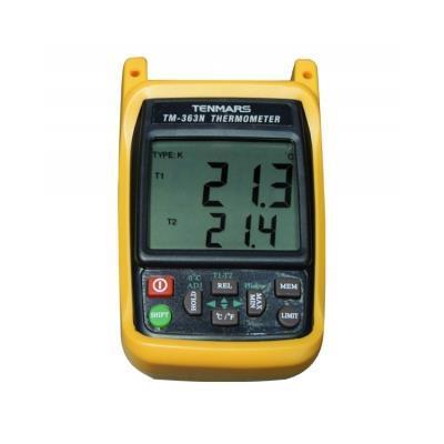 台湾泰玛斯tenmars 手持式熱電偶溫度錶TM-363N
