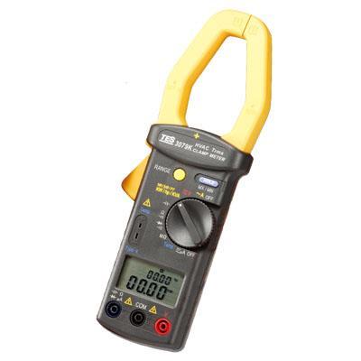 台湾泰仕TES单相/三相多功能电力钩表TES-3079K