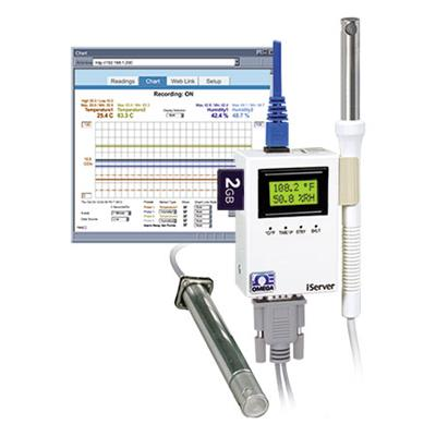 美国omega OMEGA温度和湿度虚拟图表记录仪 DB9-CA-3