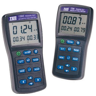 台湾泰仕TES三轴记录器型电磁波测试仪(高斯计)TES-1393