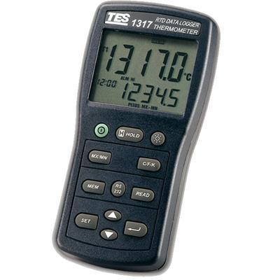 台湾泰仕TES白金电阻温度表TES-1317