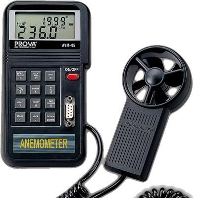 台湾泰仕TES记忆式风速计温度计AVM-05