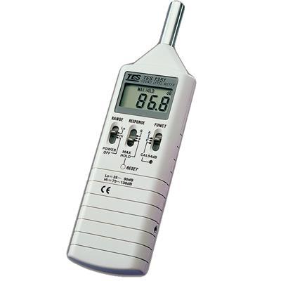 台湾泰仕TES数字式声级计噪音计TES-1351