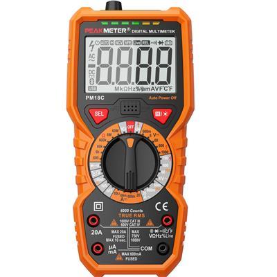 华谊仪器 真有效值数字万用表 PM18C