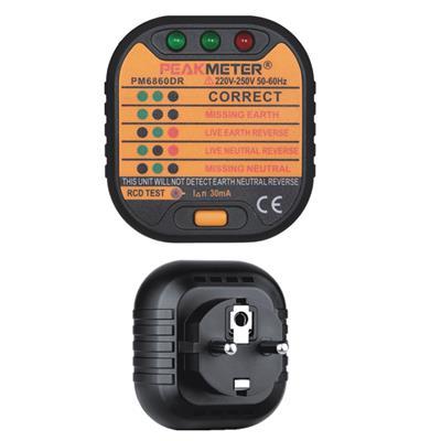 华谊仪器 插座测试仪 PM6860DR