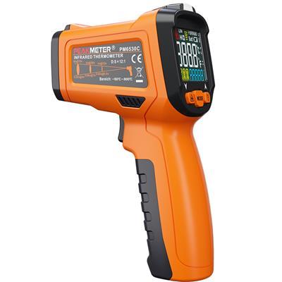 华谊仪器 5合1 红外线测温仪/带温湿度+露点+K型热电偶测温 PM6530D