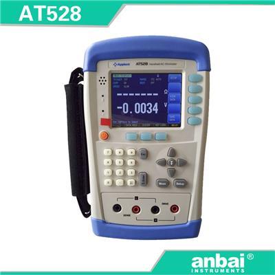 安柏anbai 手持式电池测试仪AT528