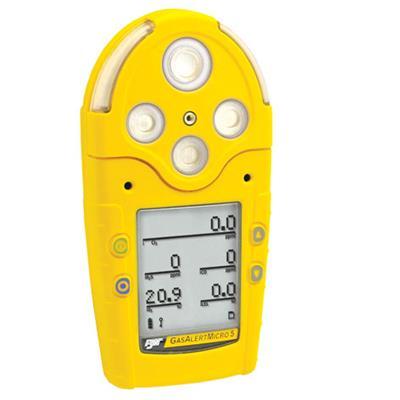 加拿大BW 五合一气体检测仪 GasAlertMicro 5 M5IR-H2S 二氧化碳 硫化氢检测