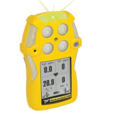 加拿大BW 四合一气体检测仪 GasAlertQuattro QT-4 便携式四合一气体检测仪