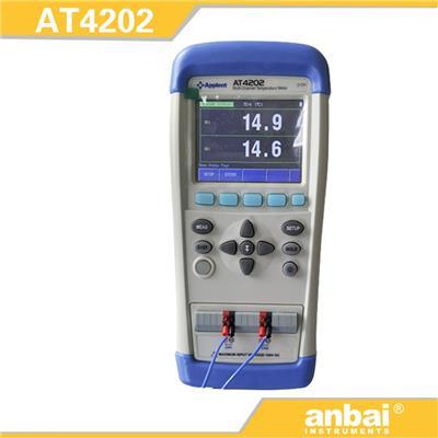 安柏anbai AT4202手持多路温度测试仪
