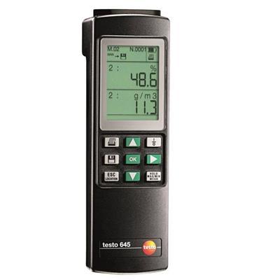 德国德图TESTO 温湿度测量仪 testo 645 - 订货号  0560 6450