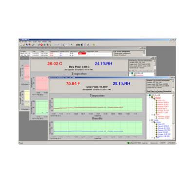 美国福禄克FLUKE  LogWare III 温湿度记录软件9936A