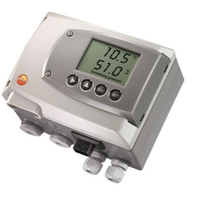 德国德图TESTO 温湿度变送器,用于关键环境测量 testo 6651 - 订货号  0555 6651