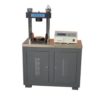 双鑫 全自动压力试验机单片机 DYE-300S