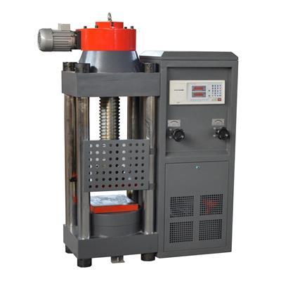 双鑫 新型电动丝杠压力试验机200吨 DYE-2000S
