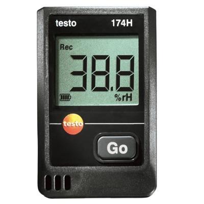 德国德图TESTO 迷你温湿度记录仪套装 testo 174 H套装 - 订货号  0572 0566