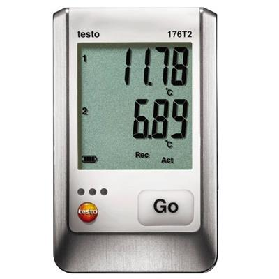 德国德图TESTO 温度记录仪 testo 176 T2 - 订货号  0572 1762