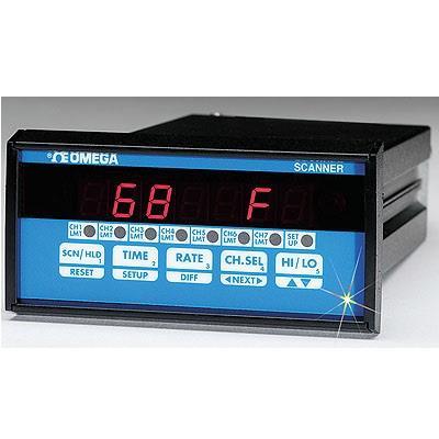 美国omega OMEGA ⅛ DIN 4和7温区过程控制器 CN1504RTD